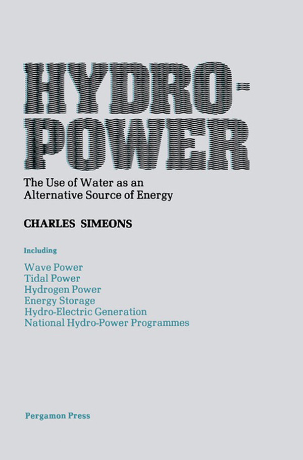 Hydro Power By Charles Simeons By Charles Simeons Read Online