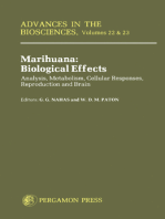 Marihuana Biological Effects: Analysis, Metabolism, Cellular Responses, Reproduction and Brain