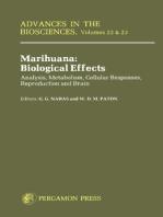 Marihuana Biological Effects