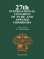 27th International Congress of Pure and Applied Chemistry