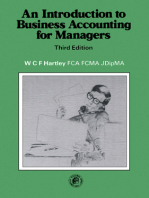 An Introduction to Business Accounting for Managers