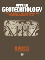 Applied Geotechnology: A Text for Students and Engineers on Rock Excavation and Related Topics