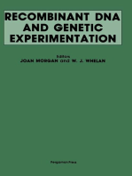 Recombinant DNA and Genetic Experimentation