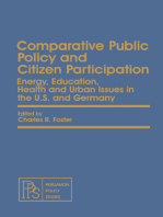 Comparative Public Policy and Citizen Participation