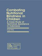 Combating Nutritional Blindness in Children