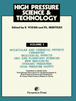 Molecular and Chemical Physics, Chemistry, Biological Effects, Geo and Planetary Sciences, New Resources, Dynamic Pressures, High Pressure Safety