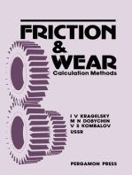 Friction and Wear: Calculation Methods