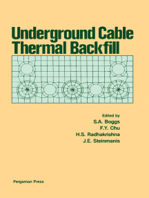 Underground Cable Thermal Backfill: Proceedings of the Symposium on Underground Cable Thermal Backfill, Held in Toronto, Canada, September 17 and 18, 1981