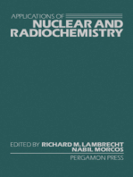 Applications of Nuclear and Radiochemistry