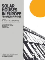 Solar Houses in Europe: How They Have Worked