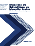 International and National Library and Information Services