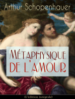 Métaphysique de l'amour (L'édition intégrale)