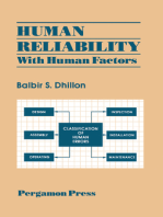 Human Reliability: With Human Factors