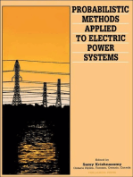 Probabilistic Methods Applied to Electric Power Systems