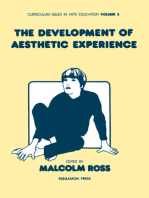 The Development of Aesthetic Experience