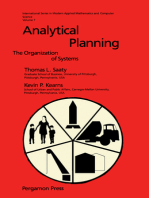 Analytical Planning: The Organization of System