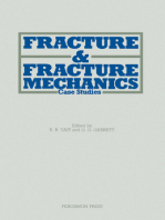 Fracture and Fracture Mechanics