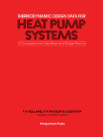 Thermodynamic Design Data for Heat Pump Systems: A Comprehensive Data Base and Design Manual