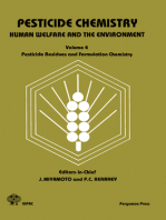 Pesticide Chemistry: Human Welfare and the Environment: Pesticide Residues and Formulation Chemistry