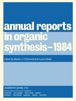 Annual Reports in Organic Synthesis–1984