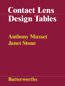 Contact Lens Design Tables: Tables for the Determination of Surface Radii of Curvature of Hard Contact Lenses to Give a Required Axial Edge Lift