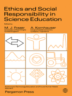 Ethics and Social Responsibility in Science Education: Science and Technology Education and Future Human Needs