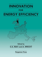 Innovation for Energy Efficiency