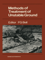 Methods of Treatment of Unstable Ground