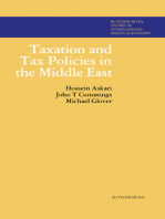 Taxation and Tax Policies in the Middle East