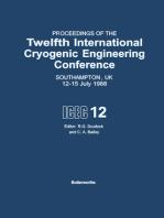 Proceedings of the Twelfth International Cryogenic Engineering Conference Southampton, UK, 12–15 July 1988