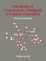 Handbook of Coordination Catalysis in Organic Chemistry