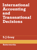 International Accounting and Transnational Decisions