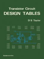 Transistor Circuit Design Tables