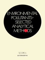 Environmental Pollutants—Selected Analytical Methods