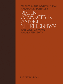 Recent Advances in Animal Nutrition – 1979: Studies in the Agricultural and Food Sciences