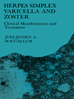 Herpes Simplex Varicella and Zoster: Clinical Manifestations and Treatment