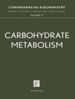 Carbohydrate Metabolism: Comprehensive Biochemistry