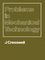 Problems in Mechanical Technology