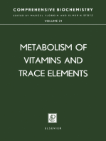 Metabolism of Vitamins and Trace Elements