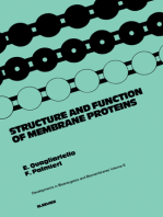 Structure and Function of Membrane Proteins