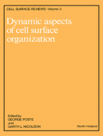 Dynamic Aspects of Cell Surface Organization