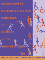 Community Rehabilitation Services for People with Disabilities