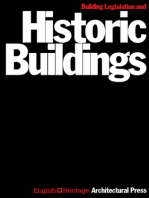 Building Legislation and Historic Buildings: A Guide to the Application of the Building Regulations, the Public Health Acts, the Fire Precautions Act, the Housing Act and Other Legislation Relevant to Historic Buildings