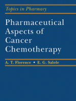 Pharmaceutical Aspects of Cancer Chemotherapy