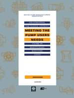 Meeting the Pump Users Needs: The Proceedings of the 12th International Pump Technical Conference