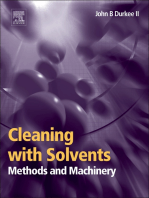 Cleaning with Solvents