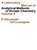 A Laboratory Manual of Analytical Methods of Protein Chemistry
