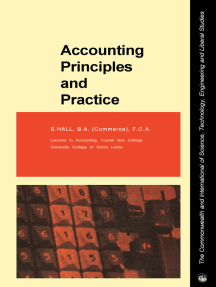 Accounting Principles and Practice: The Commonwealth and International Library: Commerce, Economics and Administration Division