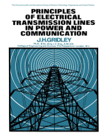 Principles of Electrical Transmission Lines in Power and Communication: The Commonwealth and International Library: Applied Electricity and Electronics Division