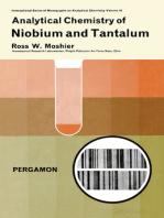 Analytical Chemistry of Niobium and Tantalum
